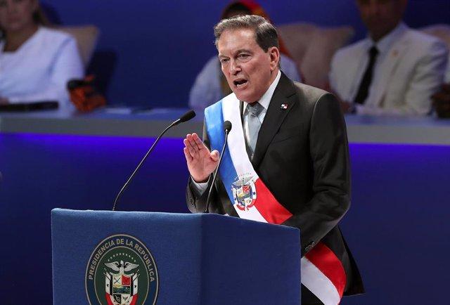 Toma de posesión del presidente de Panamá, Laurentino Cortizo