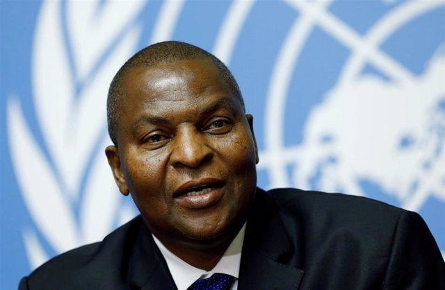 El presidente de República Centroafricana, Faustin-Archange Touadera