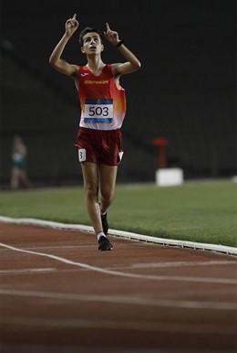 El marchador Paul McGrath gana la plata en el FOJE de Bakú 2019