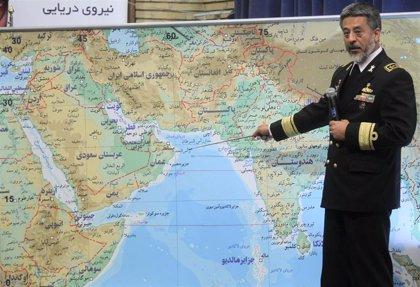 """El jefe de la Marina de Irán asegura que sus militares """"vigilan"""" a todos los """"buques enemigos"""" en el Golfo"""