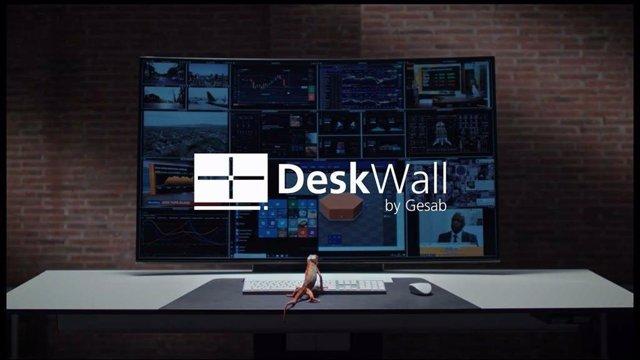 KVM Deskwall by GESAB