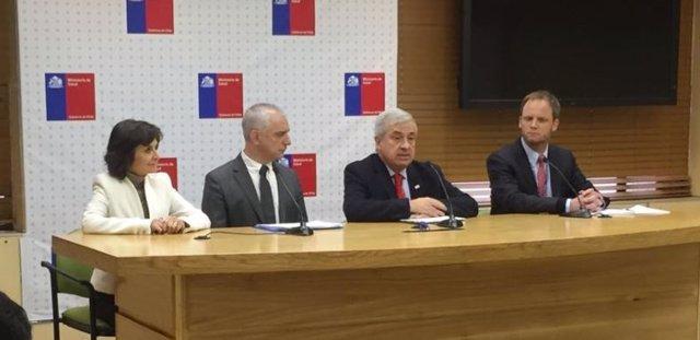 El ministro de Salud de Chile se reune con Onusida