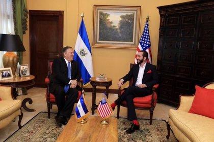"""El presidente de El Salvador califica de """"excelente"""" su reunión con Pompeo y asegura que llegaron a varios """"acuerdos"""""""