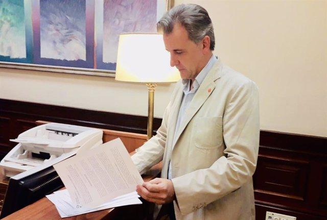 El diputado de Cs y alcalde de Utrillas, Joaquín Moreno