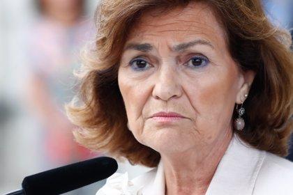 """Calvo dice que su oferta a Podemos es """"razonable"""" y da a entender que aceptan que Montero sea vicepresidenta"""