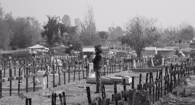 Cementerio de víctimas del régimen de Pinochet
