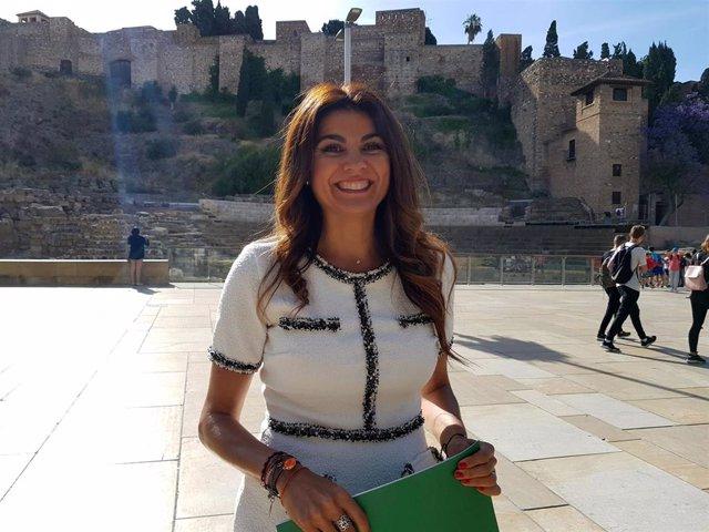 La delegada de Turismo en Málaga, Nuria Rodríguez
