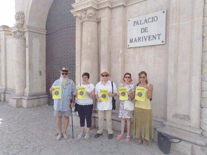 Colectivos antimonárquicos anuncian futuras concentraciones en Mallorca en contra de la presencia de la Familia Real
