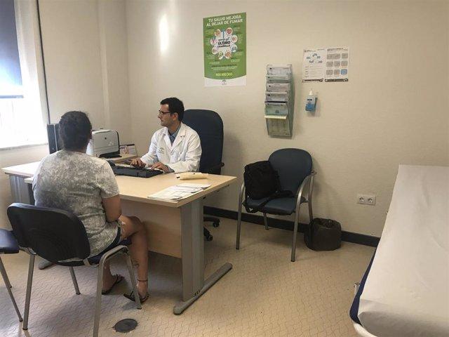 Consulta de la Unidad de Enfermedad Inflamatoria Intestinal (EII) del Hospital Regional Universitario de Málaga