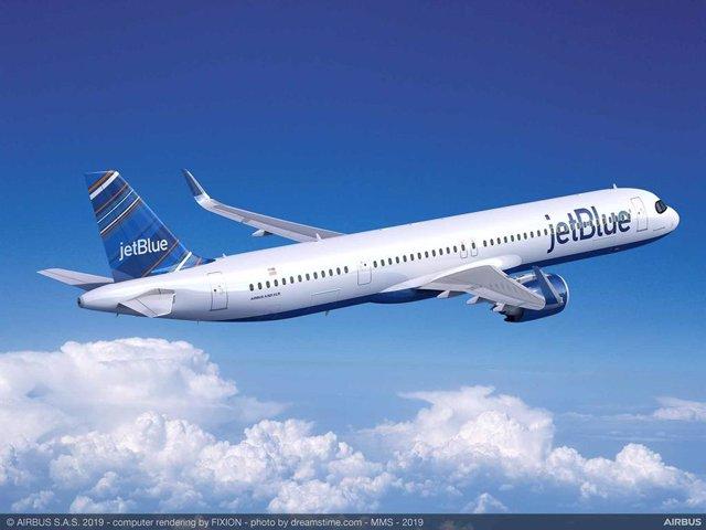 A321XLR de JetBlue