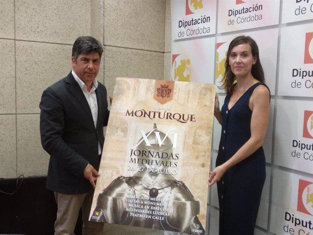 Llamas y Romero presentan las XVI Jornadas Medievales de Monturque