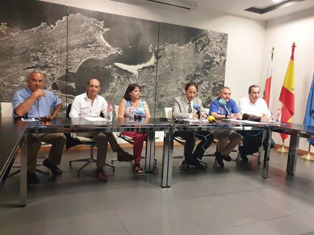 Reunión de la Consejería de Obras Públicas con AMA