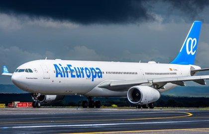 Air Europa ha transportado más de 6,1 millones de clientes en el primer semestre, un 14% más