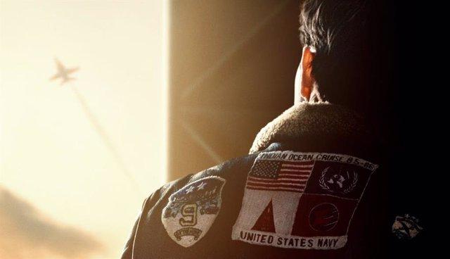 Fragmento del póster de Top Gun: Maverick