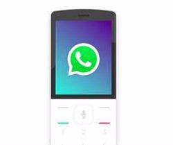 WhatsApp ja es pot descarregar en els 'smartphones' bàsics amb KaiOS (KAIOS TECHNOLOGIES)