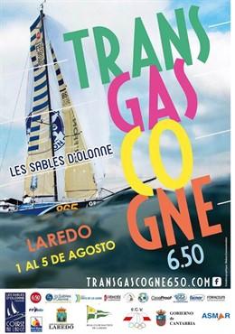 Cartel de la regata Transgascogne