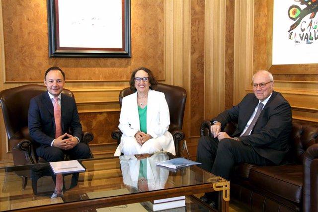 Fwd: Teletip Visita De La Secretaria General Iberoamericana, Rebeca Grynspan.
