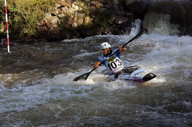 Maialen Chourraut Copa Mundo slalom