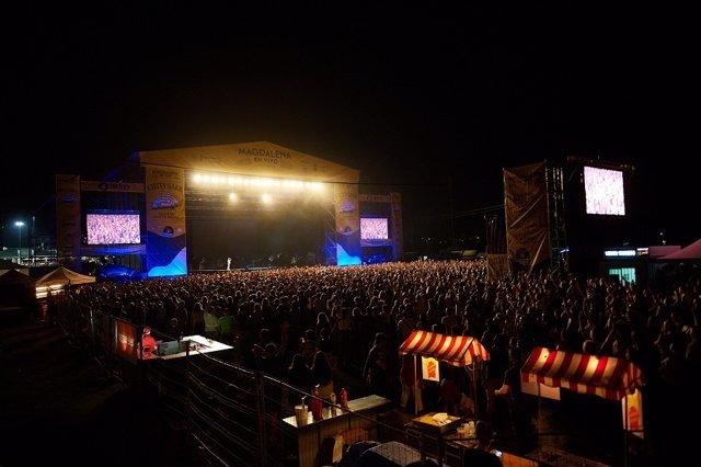 Texas en el concierto solidario que ofreció en Santander