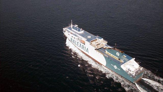 BALEÀRIA INCORPORA EL 'MARIE CURIE', EL CUARTO 'SMART SHIP' QUE PODRÁ NAVEGAR A GAS NATURAL