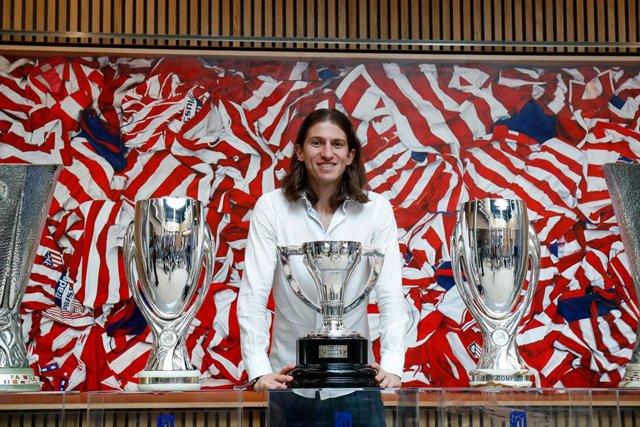 Filipe Luis se despide del Atlético de Madrid