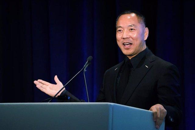 El magnate chino Guo Wengui.