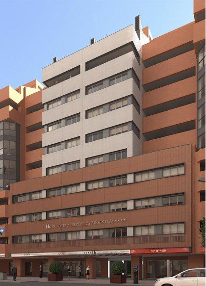 Insur inicia las obras del hotel de cuatro estrellas de República Argentina (Sevilla) que gestiona con Grupo Hotusa