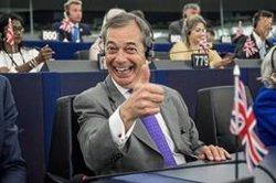 Farage es declara disposat a pactar amb els 'tories' si Johnson convoca eleccions anticipades (Roberto Monaldo/LaPresse via ZUM / DPA)