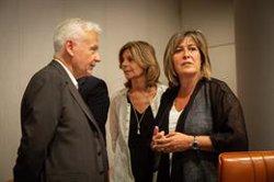 La Diputació de Barcelona retira el llaç groc per decisió de Marín i JxCat demana tornar a posar-lo (David Zorrakino - Europa Press)