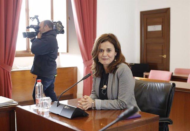 La senadora de Adelante Andalucía, Esperanza Gómez.