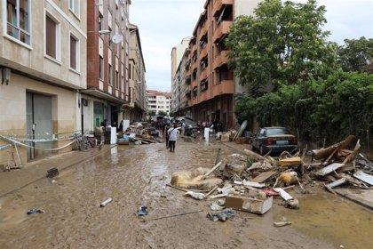 El Gobierno foral constituye una Comisión de recuperación de parte de la Zona Media declarada en situación de catástrofe