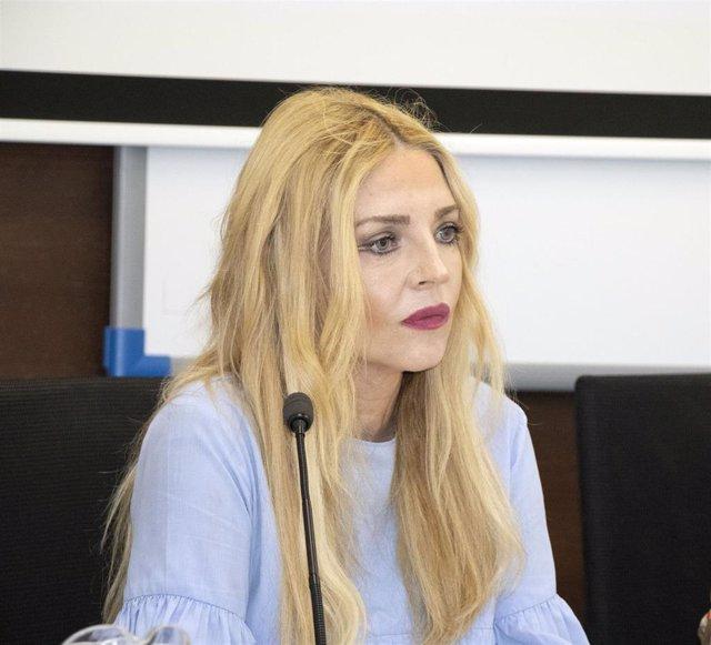 La presidenta del Observatorio contra la Violencia de Género, María Ángeles Carmona, en los cursos de verano de la Universidad Pablo de Olavide (UPO)