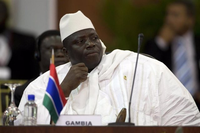 El ex presidente de Gambia Yahya Yamé