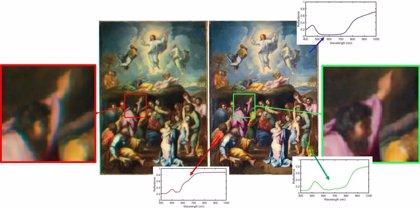 Científicos de Granada aplican técnicas de imagen espectral de alto rango dinámico al estudio de obras de arte