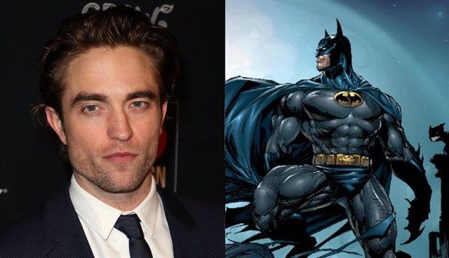 Imagen del actor Robert Pattinson, que interpretará a Bruce Wayne en la versión de Batman de Matt Reeves