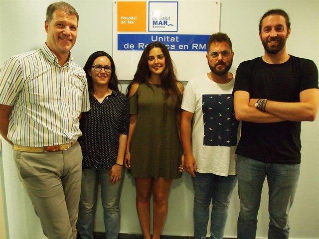Joan Deus, Laura Blanco, Lucía Canu, Daniel Ramos y Gerard Martínez