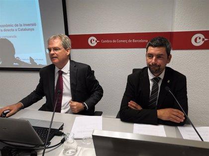 La Cámara de Barcelona: el proceso independentista no afectó a la inversión extranjera productiva