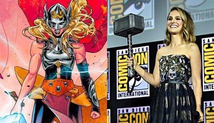 Así sería Natalie Portman como The Mighty Thor en Love and Thunder