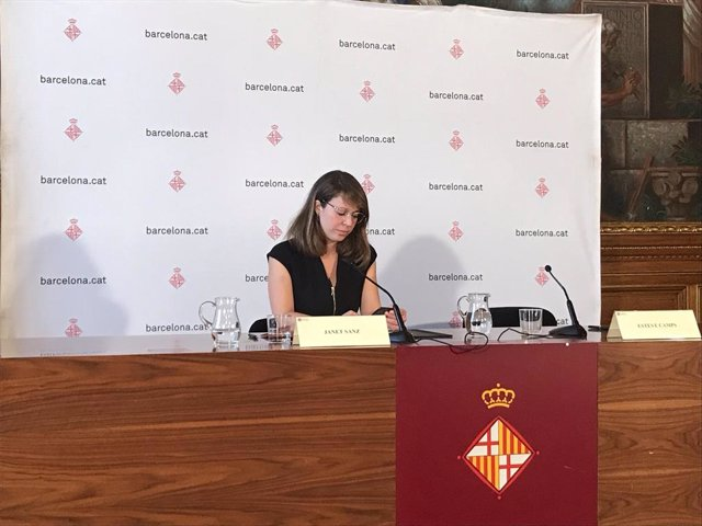 Janet Sanz, tinent alcalde d'Ecologia i Mobilidad de l'Ajuntament de Barcelona.