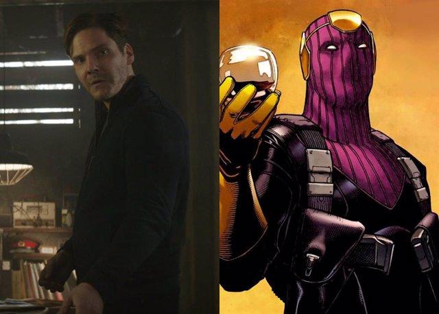 Zemo, el villano que logró enfrentar a Capitán América y a Iron Man en Civil War, podría haber tenido un diseño mucho más fiel al cómic. En las historietas de Marvel, Zemo lleva un máscara morada que le tapa el rostro pero, en cambio, en la película ap