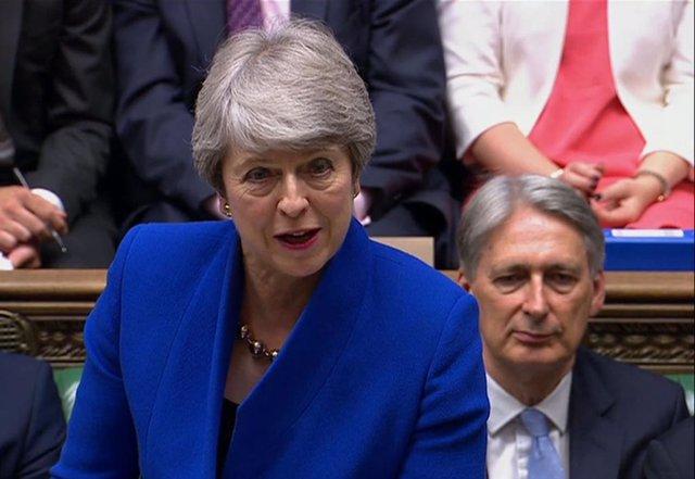La primera ministra sortint del Regne Unit,  Theresa May