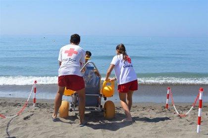 Rincón de la Victoria (Málaga) mejora los puntos de accesibilidad destinados al baño de personas con movilidad reducida