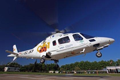 Rescatan en helicóptero a una niña y a una joven heridas al caer en Junta de los Ríos, en Otívar (Granada)