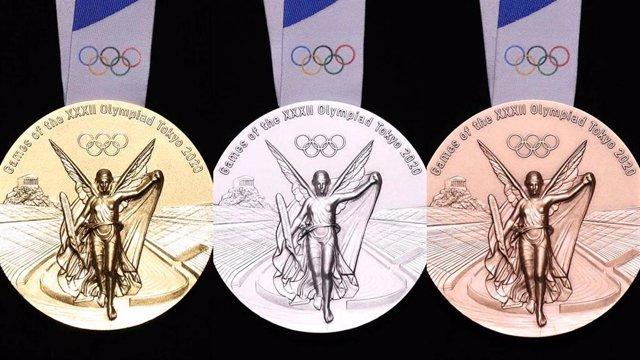 Medallas de los Juegos Olímpicos de Tokio 2020