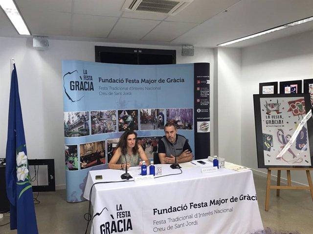 Carla Carbonell y Eloi Badia