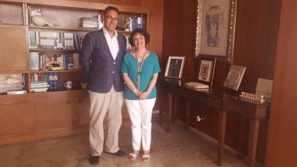 La subdelegada del Gobierno en Córdoba recibe al presidente de Proyecto Hombre