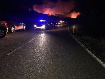 El incendio forestal en El Berrueco está controlado y se prevé la retirada progresiva de medios