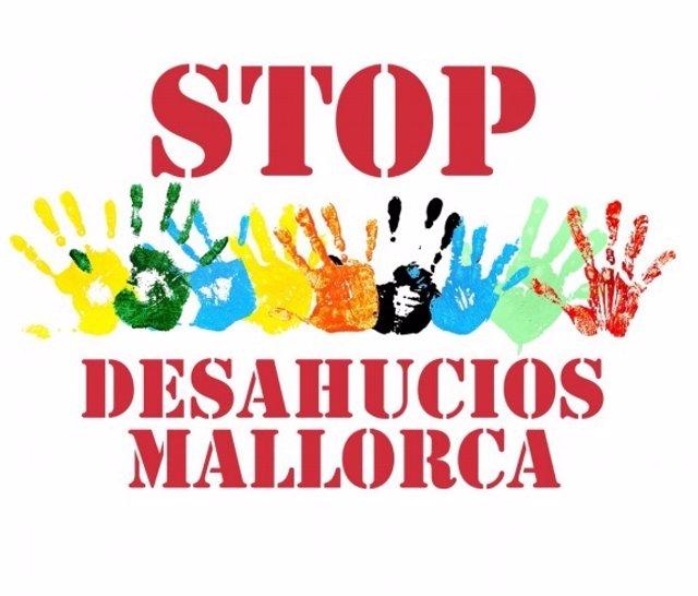 Logotip de l'entitat Stop Deshaucios Mallorca.