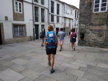 Santiago recibe 49.000 peregrinos en junio, un 45% más que en el mismo mes del Año Santo 2010