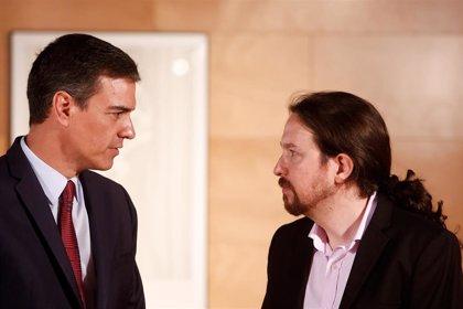 Sánchez traslada a Iglesias el ultimátum del PSOE: No cederán competencias en las materias que pide Podemos